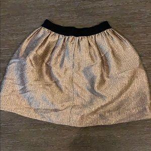 Girls crewcuts JCrew holiday skirt
